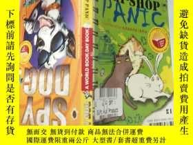 二手書博民逛書店THE罕見GREAT PET-SHOP PANIC寵 物店大 恐慌Y200392