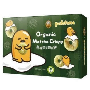 米森 有機抹茶穀脆餅 60g/盒