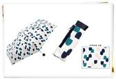 WPC 雨傘 折傘 抗UV 迷你 超輕量 日本原版 幾何 107880 星星卡其 108160 藍色 108184