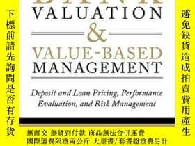 二手書博民逛書店Bank罕見Valuation And Value-based