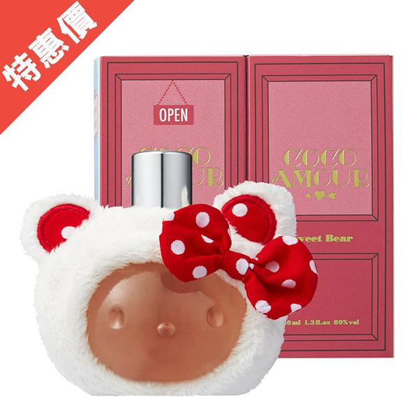 (NG商品-無封膜及中標) Hello Kitty Coco Amour 原宿貝兒 女性淡香精 40ml【娜娜香水美妝】