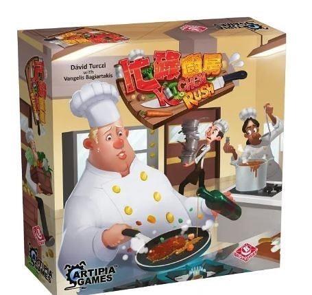 『高雄龐奇桌遊』 忙碌廚房 Kitchen Rush 繁體中文版 含KS 大魚大肉 擴充 正版桌上遊戲專賣店