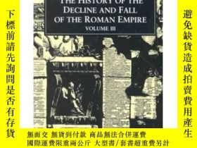 二手書博民逛書店The罕見History of the Decline and Fall of the Roman Empire: