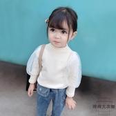 女童長袖T恤童裝中小童寶寶打底衫兒童潮款【時尚大衣櫥】