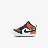 Nike Jordan 1 Crib Bootie [AT3745-108] 小童鞋 運動 休閒 喬丹 穿搭 學步 橘黑