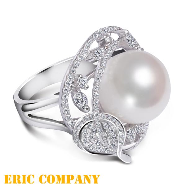 Eileen Me Morgan -摩根 天然頂級珍珠戒指 13.5mm