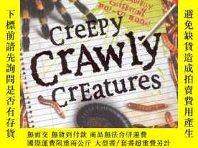 二手書博民逛書店Creepy罕見Crawly Creatures(立體圖書)Y1