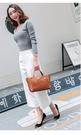 新款時尚頭層牛皮軟皮包中女包簡約個性斜背...