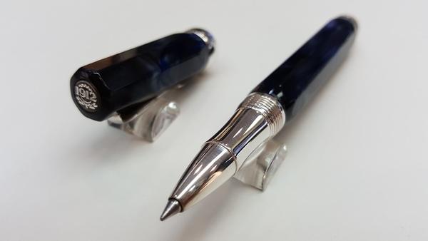 萬特佳Montegrappa-義大利書寫精品第一品牌-鋼珠筆-ISMCCRAB(藍)