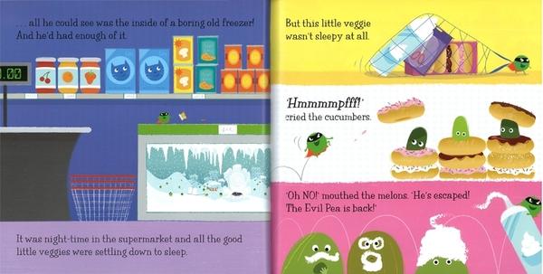 【麥克書店】SUPERTATO:EVIL PEA RULES!  / 英文繪本《主題:聖誕節.幽默》 作家: Sue Hendra