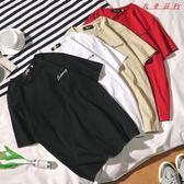 短袖T恤男女韓版學生寬鬆情侶衣服