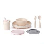 Miniware 天然聚乳酸兒童學習餐具 小食客六入組-香草棉花糖