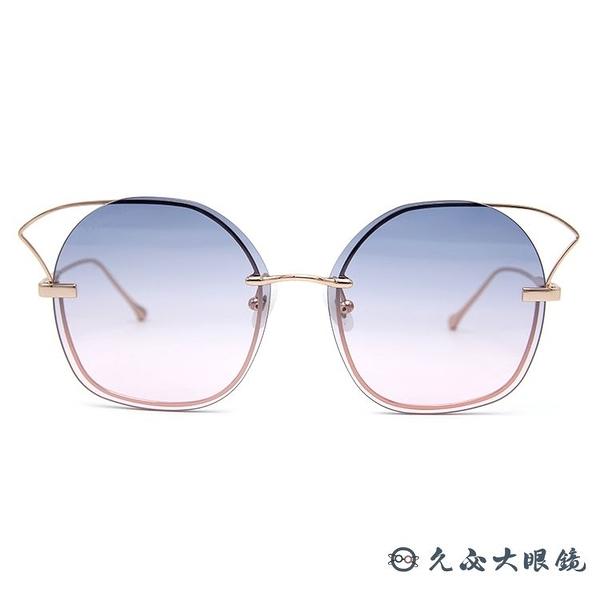 For Art's Sake 太陽眼鏡 Stormy JF3 (玫瑰金) 貓眼框 久必大眼鏡