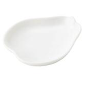 日本陶瓷【小田陶器】小 洋梨盤 西洋梨 日本製餐盤 白瓷盤 水果盤 餐具 盤子 碟子