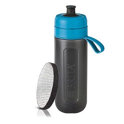 BRITA Fill&Go Active 運動濾水瓶 0.6L (藍色)