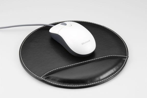 義大文具批發網~ 波德徠爾系列STM-9337皮質滑鼠墊~高級皮質辦公文具系列!