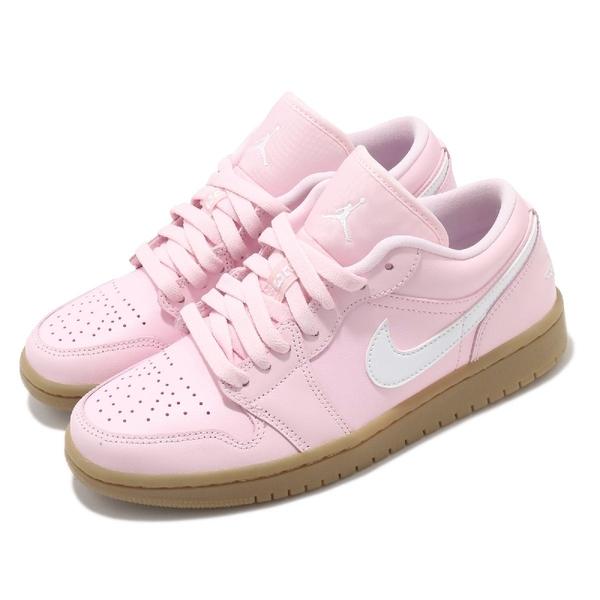 Nike 休閒鞋 Wmns Air Jordan 1 Low Pink Gum 粉紅 男鞋 女鞋 AJ1 【ACS】 DC0774-601