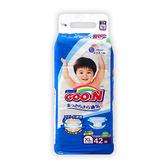 GOO.N 新日本境內版大王頂級紙尿褲(尿布)XL42片*4包(箱購)[衛立兒生活館]