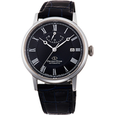 ORIENT STAR 東方之星 CLASSIC 羅馬機械錶-黑/38.7mm RE-AU0003L