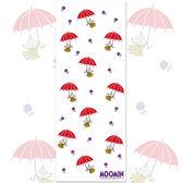 嚕嚕米正版授權 - 柔棉紗布毛巾 【小紅傘】