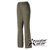 PolarStar 女 防水保暖長褲『深卡其』P15410