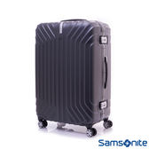 Samsonite新秀麗 28吋 TRU-FRAME PC時尚硬殼鋁框行李箱(碳黑)
