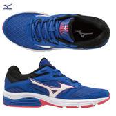 MIZUNO WAVE SURGE (W) 女鞋 慢跑 休閒 輕量 耐磨 支撐 舒適 透氣 藍 白 紅【運動世界】J1GD171321