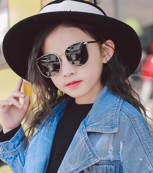 兒童太陽鏡偏光女童眼鏡男童墨鏡寶寶小孩眼睛個性潮防紫外線親子