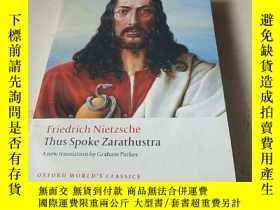 二手書博民逛書店Thus罕見Spoke Zarathustra:A Book for Everyone and Nobody (O