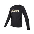 ASICS 男長袖T恤(免運 亞瑟士 慢跑 路跑 吸濕排汗 上衣 台灣製≡體院≡ 2033B129-001
