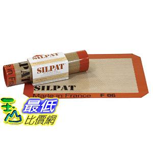 [104美國直購] Silpat 烘焙墊 AE295205-01 Non-Stick Silicone Baking Mat, 30 x 21 cm法國製 烤箱墊_CB1