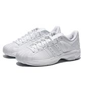 ADIDAS 籃球鞋 PRO MODEL 2G 全白 皮革 耐磨 男 (布魯克林) FX7099