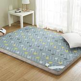 床墊 加厚床褥床墊1.5m床1.8m單人1.2米0.9米宿舍床墊海綿地鋪睡墊1.5*2.0m