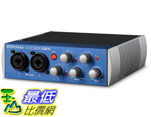 [106美國直購] 錄音系統 PreSonus AudioBox USB 96: 2x2 USB 2.0 Recording System with Studio One