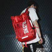 街頭時尚潮流背包ins超火雙肩包潮牌男大容量15.6寸中學生書包女
