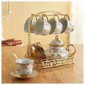 咖啡杯套套具 整套歐式骨瓷陶瓷杯碟茶具茶杯家用馬克杯水杯子吾本良品