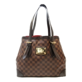 LOUIS VUITTON LV 路易威登 棋盤格肩背托特包 Hampstead MM N51204【BRAND OFF】