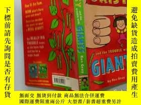 二手書博民逛書店Daisy罕見and the Trouble with Giants:黛西和巨人的麻煩Y200392