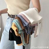 夏裝女裝韓版修身顯瘦雙吊帶彈力針織衫小背心外穿短款打底衫上衣艾美時尚衣櫥