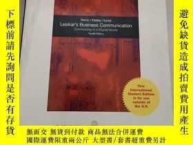二手書博民逛書店Business罕見Communication: Making Connections in a Digital