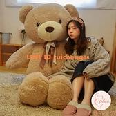大熊泰迪熊貓毛絨玩具公仔布娃娃大號睡覺抱枕玩偶女孩可愛抱抱熊【大碼百分百】