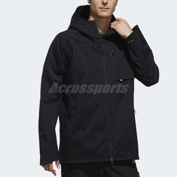 adidas 連帽外套 ID Jacket WV RTG 黑 男款 基本款 【PUMP306】 DT2448