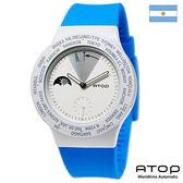 ATOP 世界時區腕錶|24時區國旗系列 - VWA-Argentina 阿根廷