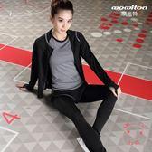 (雙11大促銷)瑜伽服瑜伽運動套裝女夏2018春新品健身房跑步寬鬆速幹衣專業健身服女潮