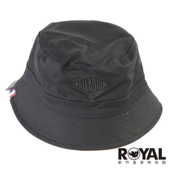 Palladium 黑橘色 漁夫帽 可正反戴 純棉 女款 NO.H3590【新竹皇家 C3176-962】