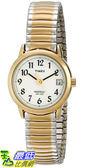 [105美國直購] Timex WoMens 女士手錶 T2H491 Easy Reader Two-Tone Watch with Expansion Band
