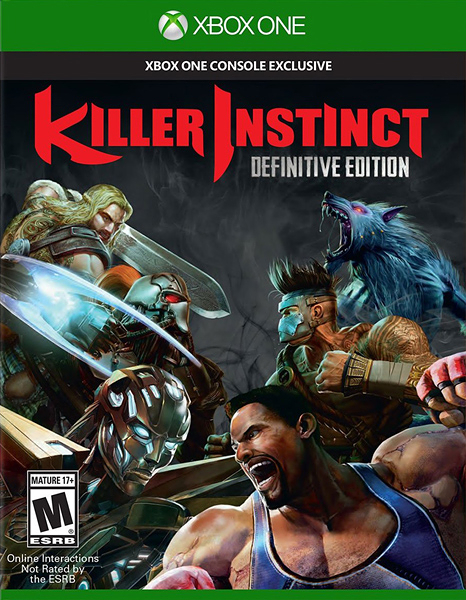 X1 Killer Instinct Definitive Edition 殺手本能 確定版(美版代購)