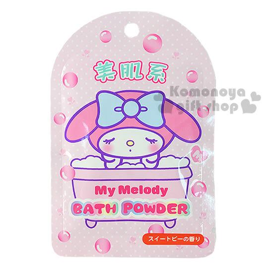 〔小禮堂〕美樂蒂 日製入浴劑《粉.泡澡.點點.美肌系》香碗豆花香味 4901610-84812