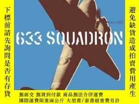 二手書博民逛書店633罕見Squadron: The Winged Legend of World War II (Cassell