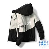 防曬衣 夾克男士2021春夏韓版皮膚衣男裝超薄冰絲戶外工裝外套防曬衣服男